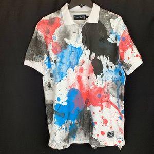 NWT. Play Cloths 100% Cotton Polo T-shirt. Size L.